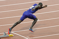 USA's Kerron Clement is the favorite of the 400 meters hurdles men during the IAAF World Athletics 2017 Championships In Olympic Stadium, Queen Elisabeth Park, London, UK, on August 7th, 2017 Photo by Henri Szwarc/ABACAPRESS.COM