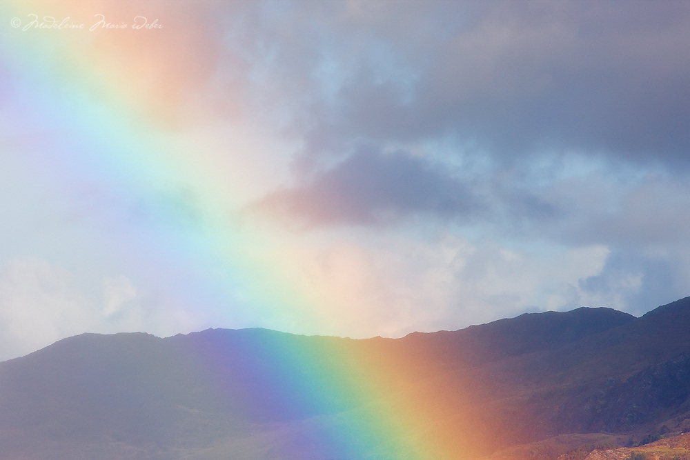 Colourful Rainbow Closeup, Ireland / rb014