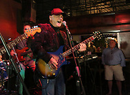BRENDAN FITTERER  |  VISIT FLORIDA<br /> Howlin' Bob sings lead vocals as Mark Serio and Friends perform at Mattison's City Grille downtown Sarasota, 1 North Lemon Ave Sarasota, FL 34236.