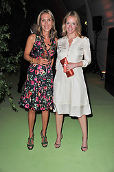 Left to right, TATIANA d'ABO and KATE REARDON at a dinner hosted by Cartier in celebration of the Chelsea Flower Show held at Battersea Power Station, 188 Kirtling Street, London SW8 on 23rd May 2011.