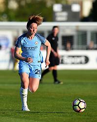 Meg Campbell of Manchester City Women - Mandatory by-line: Paul Knight/JMP - 09/05/2017 - FOOTBALL - Stoke Gifford Stadium - Bristol, England - Bristol City Women v Manchester City Women - FA Women's Super League Spring Series