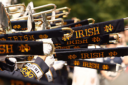 Notre Dame Marching Band concert..Photo by Matt Cashore