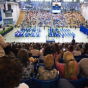 060211 Newark DE: Family and friends gather for St.Georges Tech HS graduation ceremony Thursday, June 2, 2011, at The Bob Carpenter Center in Newark Delaware.<br /> <br /> Special to The News Journal/SAQUAN STIMPSON