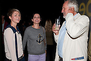 HOLLY DAVIDSON;  SADIE FROST; NICK ALLOTT; , Curtain Call. Opening of Ron Arad's new installation and the 5th Anniversary of the  Roundhouse, The Roundhouse. London. 8 August 2011. <br /> <br />  , -DO NOT ARCHIVE-© Copyright Photograph by Dafydd Jones. 248 Clapham Rd. London SW9 0PZ. Tel 0207 820 0771. www.dafjones.com.