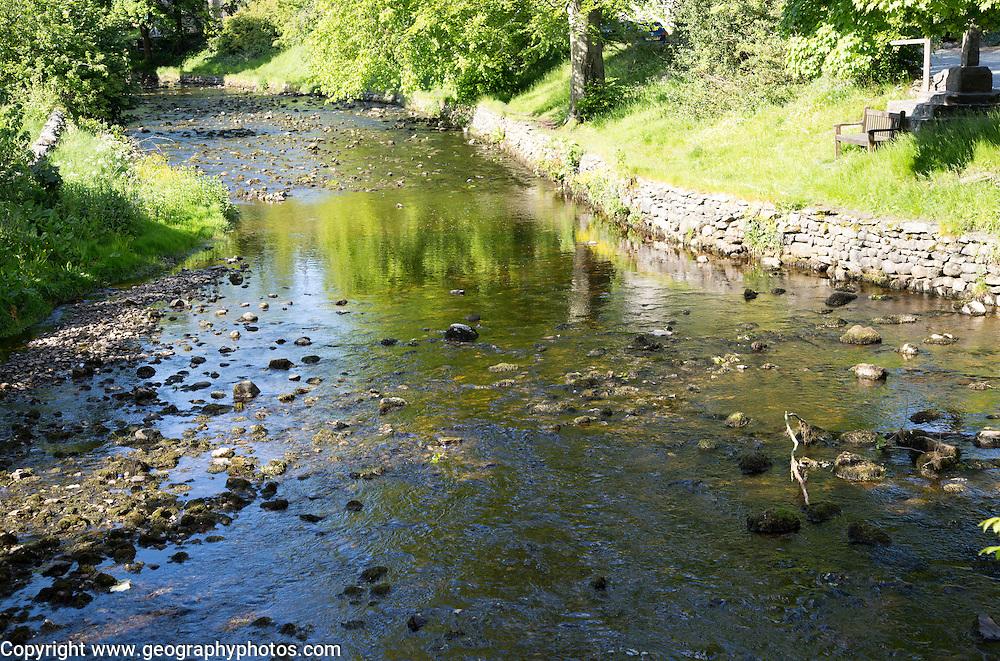 Clapham Beck stream, Clapham village, Yorkshire Dales national park, England, UK