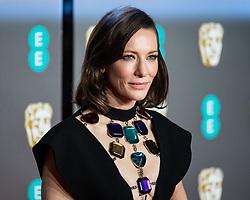 Cate Blanchett attending 72nd British Academy Film Awards, Arrivals, Royal Albert Hall, London. 10th February 2019