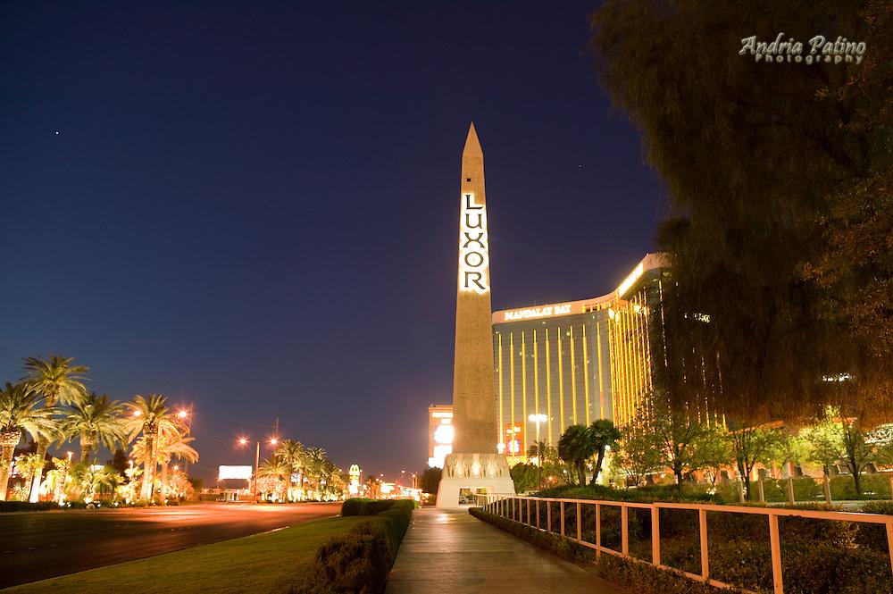 Luxor Obelisk, Las Vegas