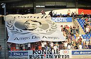 22-08-2009 Voetbal:Willem II:Heracles Almelo:Tilburg<br /> Ter nagedachtenis aan een echte Willem II supporter<br /> Foto: Geert van Erven