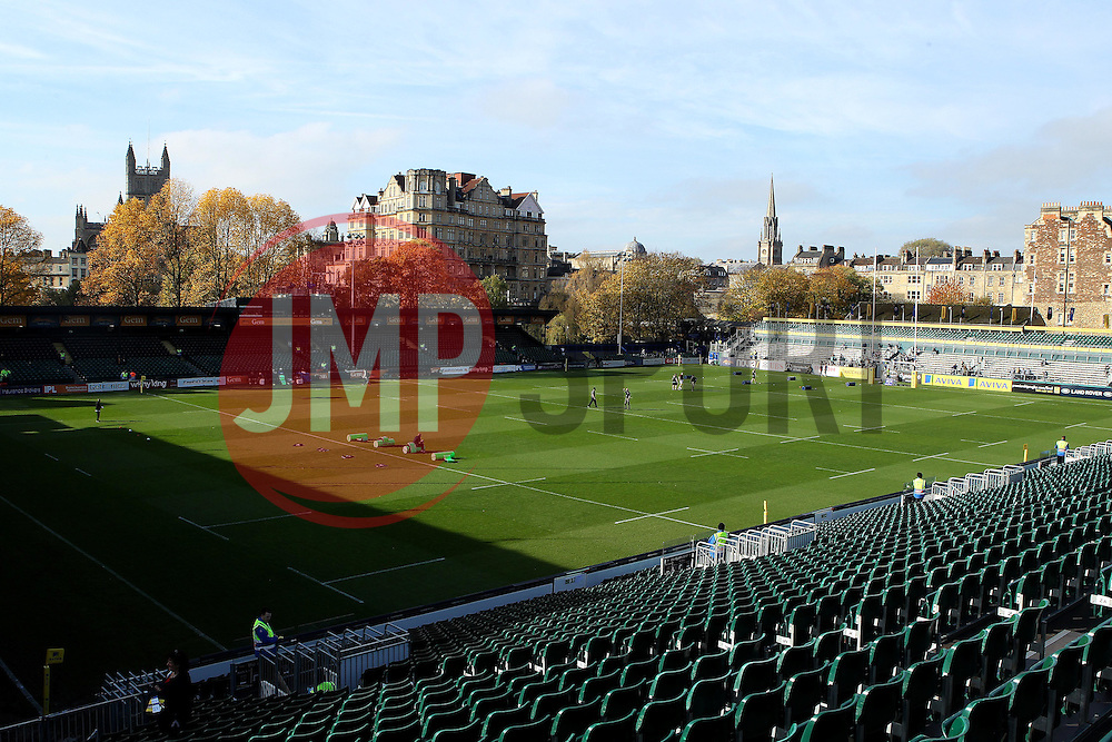 The Recreation Ground home of Bath Rugby - Mandatory byline: Robbie Stephenson/JMP - 07966386802 - 31/10/2015 - RUGBY - Recreation Ground -Bath,England - Bath Rugby v Harlequins - Aviva Premiership