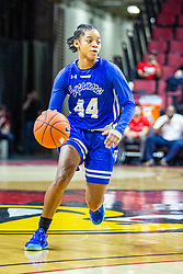 NORMAL, IL - January 03: Caitlin Anderson during a college women's basketball game between the ISU Redbirds and the Sycamores of Indiana State January 03 2020 at Redbird Arena in Normal, IL. (Photo by Alan Look)