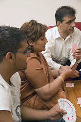 Family playing cards,