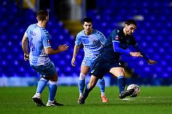 Edward Upson of Bristol Rovers marks ,Liam Kelly of Coventry City - Mandatory by-line: Ryan Hiscott/JMP - 14/01/2020 - FOOTBALL - St Andrews Stadium - Coventry, England - Coventry City v Bristol Rovers - Emirates FA Cup third round replay