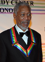 Morgan Freeman attends the 31st annual Kennedy Center Honors, at the John F Kennedy Center for the Performing Arts in Washington, DC on December 07, 2008