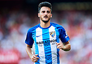 SEVILLE, SPAIN - SEPTEMBER 30:  Juan Carlos Perez of Malaga CF looks on during the La Liga match between Sevilla and Malaga at Estadio Ramon Sanchez Pizjuan on September 30, 2017 in Seville  (Photo by Aitor Alcalde Colomer/Getty Images)
