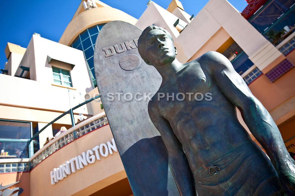 Surf Statue Duke Kahanamoku In Huntington Beach