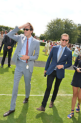 Left, OTIS FERRY at the 2014 Glorious Goodwood Racing Festival at Goodwood racecourse, West Sussex on 31st July 2014.