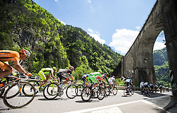 15-05-2013 WIELRENNEN: 11 ETAPPE GIRO D ITALIA: TARVIS<br /> Feature decline of the peloton during Giro d Italia 2013 at Stage 11 from Tarvis to Vajont at Tarvis<br /> ***NETHERLANDS ONLY***<br /> &copy;2013-FotoHoogendoorn.nl