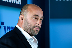 David Flatman speaks at the launch of the 2018/19 Gallagher Premiership Rugby Season Fixtures - Mandatory by-line: Robbie Stephenson/JMP - 06/07/2018 - RUGBY - BT Tower - London, England - Gallagher Premiership Rugby Fixture Launch