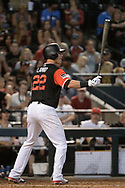PHOENIX, AZ - AUGUST 27:  Jake Lamb #22 of the Arizona Diamondbacks wearing a nickname-bearing jersey stands at bat against the San Francisco Giants at Chase Field on August 27, 2017 in Phoenix, Arizona.  (Photo by Jennifer Stewart/Getty Images)