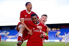 180221 Liverpool U19 v Man Utd U19