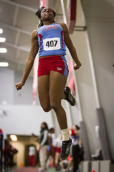 Boston University Multi-team indoor track & field, womens long jump, Delaware State, 407