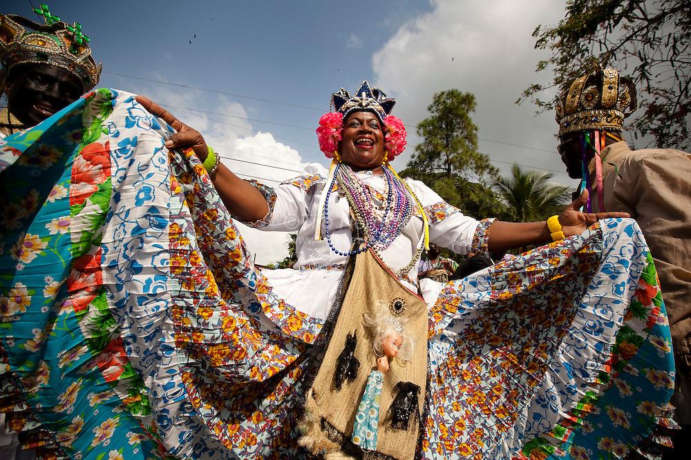 Diablos y Congos Festival. Portobello, Colon