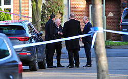 &copy; Licensed to London News Pictures.10/01/2018<br /> Chislehurst, UK.<br /> CHISLEHURST MURDER.Detectives from Homicide and Major Crime Command.<br /> A murder investigation has been launched in Chislehurst after an 18-year-old man was assaulted and died from his injuries. Police were called at approximately 21:05hrs on Tuesday, 9 January to reports of a fight on Empress Drive in Chislehurst.Officers attended and found an injured man. He was taken by the London Ambulance Service to a south a London hospital where he later died shortly after 08:00hrs.His next of kin have been informed. <br /> <br /> Photo credit: Grant Falvey/LNP
