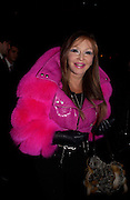 'Svetlana' Valentino couture fashion sho,  rue Bonaparte, Paris, 21 January 2004. © Copyright Photograph by Dafydd Jones 66 Stockwell Park Rd. London SW9 0DA Tel 020 7733 0108 www.dafjones.com