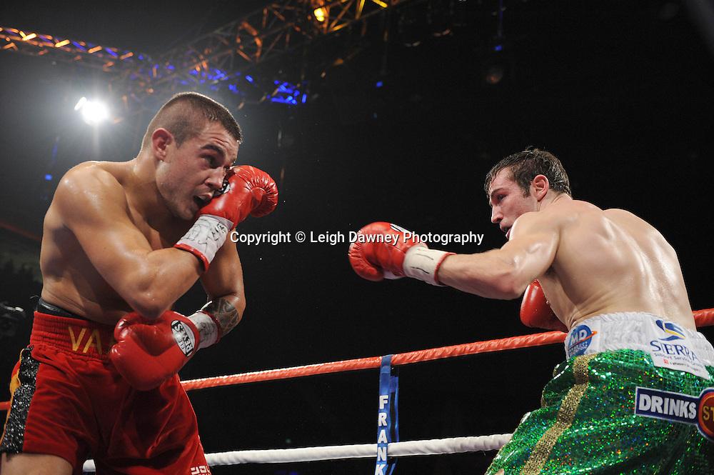 "Matthew Macklin defeats Ruben Varon at the Echo Arena, Liverpool,11th December 2010,Frank Warren.tv Promotions ""Return Of The Magnificent Seven"" © Photo Leigh Dawney"