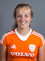 EINDHOVEN - XAN DE WAARD van Jong Oranje Dames, dat het WK in Duitsland zal spelen.  COPYRIGHT KOEN SUYK