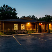Planned Approach Financial Advisors building exterior, 420 West 98th Street, Kansas City, Missouri.