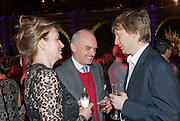 CAROLINE MICHEL; NICHOLAS COLERIDGE; SEBASTIAN SHAKESPEARE; , Orion Authors' Party celebrating their 20th anniversary. Natural History Museum, Cromwell Road, London, 20 February 2012.