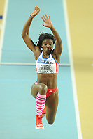ATHLETICS - WORLD CHAMPIONSHIPS INDOOR 2012 - ISTANBUL (TUR) 09 to 11/03/2012 - PHOTO : STEPHANE KEMPINAIRE / KMSP / DPPI - <br /> TRIPLE JUMP - WOMEN - FINALE - YARGERIS SAVIGNE (CUB)