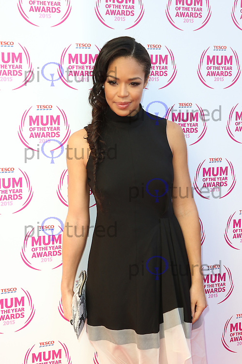 Sarah-Jane Crawford, Tesco Mum of the Year Awards, The Savoy, London UK, 01 March 2015, Photo by Richard Goldschmidt