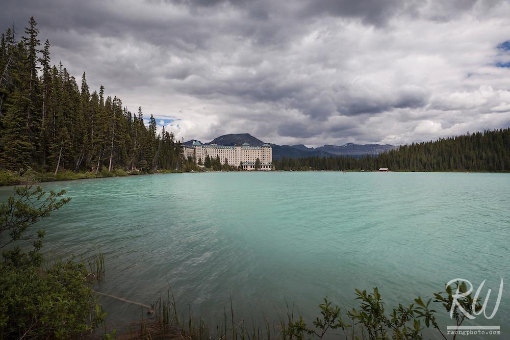 The Fairmont Chateau Lake Louise, Banff National Park, Alberta, Canada