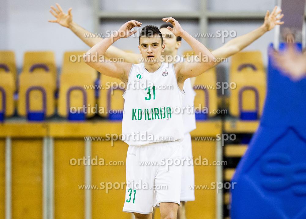 Zan Mark Sisko of Ilirija reacts during basketball match between KK Ilirija and KK Petrol Olimpija in 10th Round of Nova KBM Basketball League 2017/18, on December 17, 2017 in Hala Tivoli, Ljubljana, Slovenia. Photo by Vid Ponikvar / Sportida
