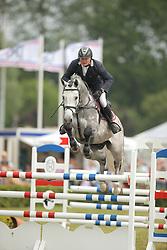 Ziems, Michael, L.B. Convall<br /> Elmshorn - Holsteiner Pferdetage<br /> Spezialspringpferdeprüfung Kl. M Finale 6j.<br /> © www.sportfotos-lafrentz.de/ Stefan Lafrentz