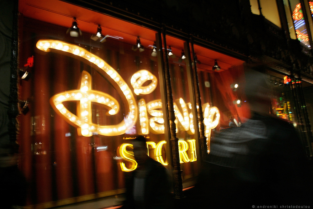 Disney shop on Hollywood Blv.
