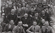This distinguished group at the 1928 Munster Final includes, Most Rev Dr Harty, Archbishop of Cashel: Mr Sean Ryan, GAA president; Rev Dr Doyle, Kilkenny; Rev Dr Maher, Kilenayle; Rev T O'Connor, Thurles; Rev M J Lee, Thurles; General Eoin O'Duffy, Major Fitzmaurice ( famous Atlantic flyer); Chief Supt Hannigan, Thurles; Mr W Myles, Editor, Tipperary Star.