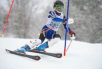 Francis Piche Slalom U14 on Cannonball. ©2015 Karen Bobotas Photographer