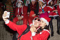 2015-12-12 Santacon 2015 comes to Trafalgar Square