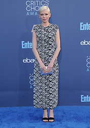 Michelle Williams  bei der Verleihung der 22. Critics' Choice Awards in Los Angeles / 111216