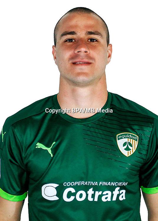 Colombia League - Liga Aguila 2016-2017 / <br /> Club Deportivo La Equidad - Colombia - <br /> Andres Correa