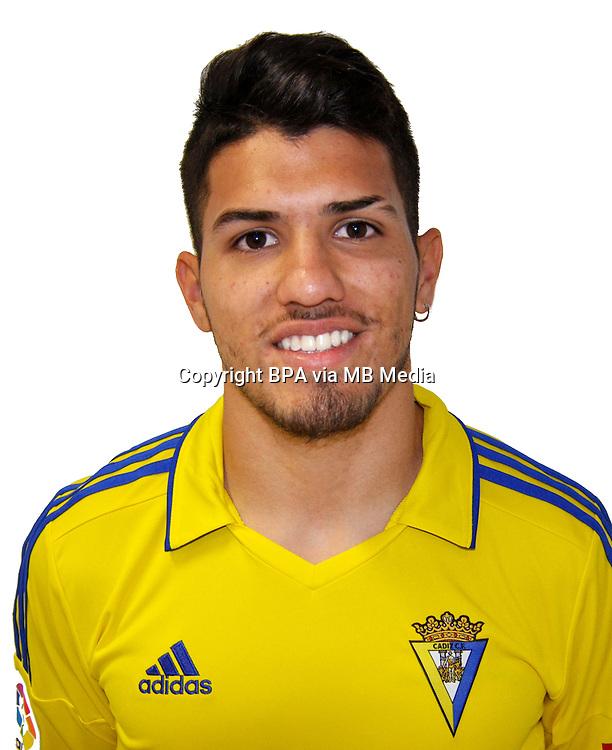 Spain - La Liga B 123 _ 2016-2017 / <br /> ( Cadiz C.F.) - <br /> Gaston Alexander Del Castillo &quot; Gaston Del Castillo &quot;