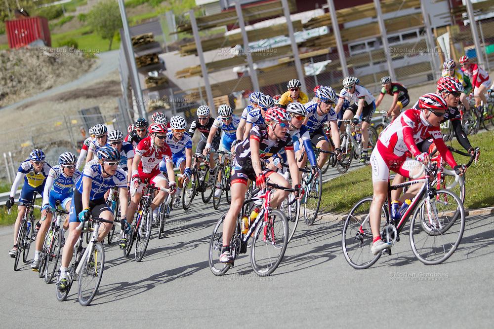 Sykkel-NM i Trondheim, juni 2010.
