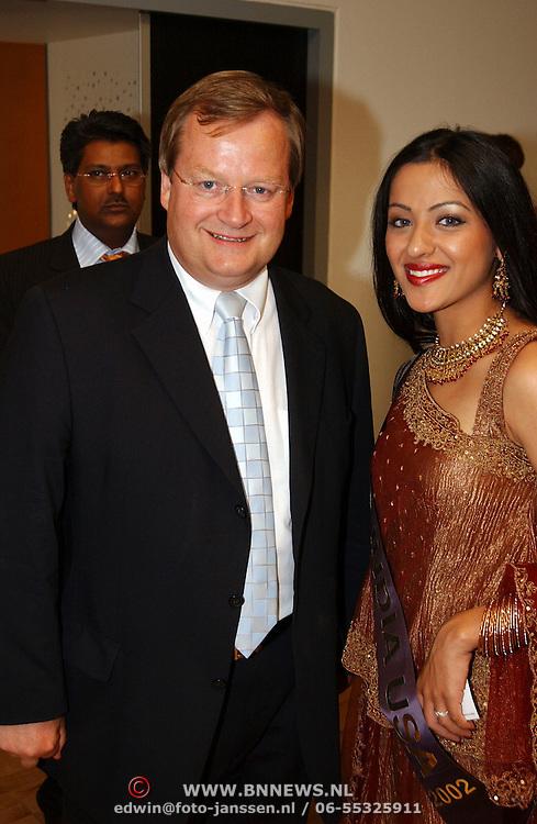 Miss India Holland 2003, Hilbrand Nawijn en Miss India USA