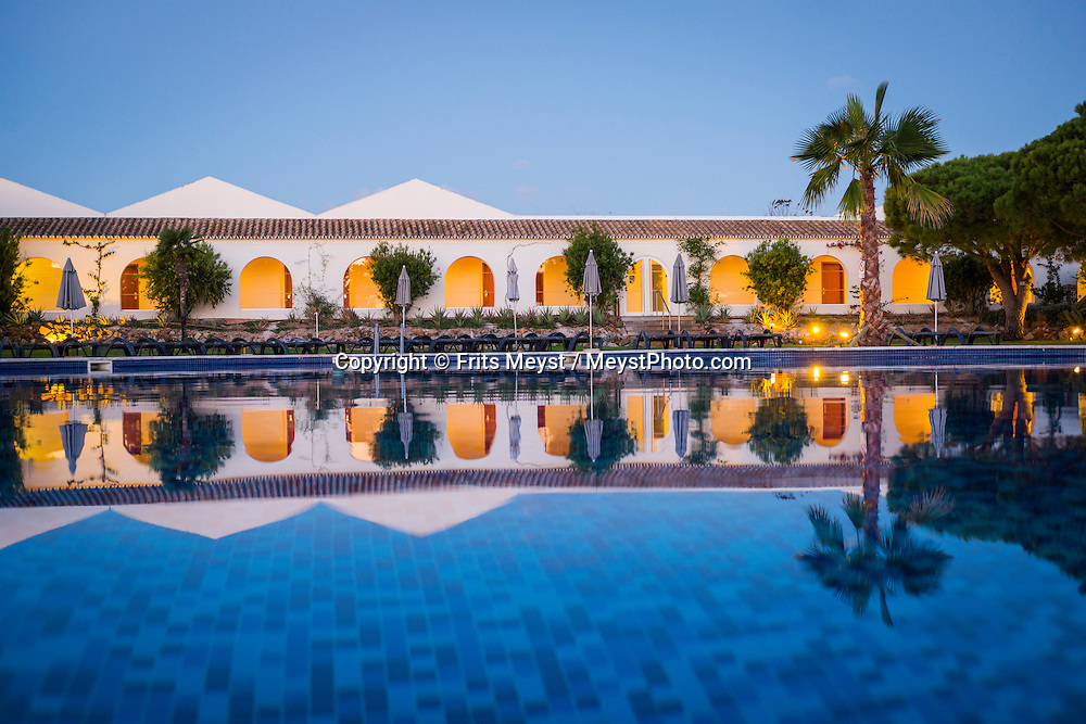 Tavira, Algarve, Portugal, October 2014. Hotel Vila Galé Albacora. A spectacular coastline of steep sandstone cliffs borders hidden sandy beaches on the south western tip of Europe, where the Mediterranean becomes the Atlantic Ocean.  Photo by Frits Meyst / MeystPhoto.com