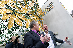 "22.02.2017, Secession, Wien, AUT, Pressetermin ""Generalsanierung Secession"", im Bild v.l.n.r. ecession-Präsident Herwig Kempinger und Kanzleramtsminister Thomas Drozda (SPÖ) // f.l.t.r. president of the secession Herwig Kempinger and Austrian minister of chancellary Thomas Drozda during media appointment due to renovation of the Secession in Vienna, Austria on 2017/02/22, EXPA Pictures © 2017, PhotoCredit: EXPA/ Michael Gruber"
