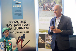 during press conference before FIS Ski World Cup Ladies competition in Ljubno 2018 on January 24, 2018 in BTC, Ljubljana, Slovenia. Photo by Urban Urbanc / Sportida