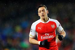 Arsenal's Mesut Ozil  - Mandatory byline: Matt McNulty/JMP - 16/03/2016 - FOOTBALL - Nou Camp - Barcelona,  - FC Barcelona v Arsenal - Champions League - Round of 16